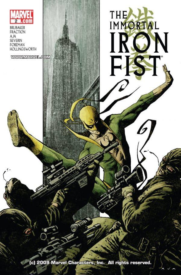Immortal Iron Fist #2