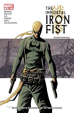 Immortal Iron Fist (2006-2009) No.3
