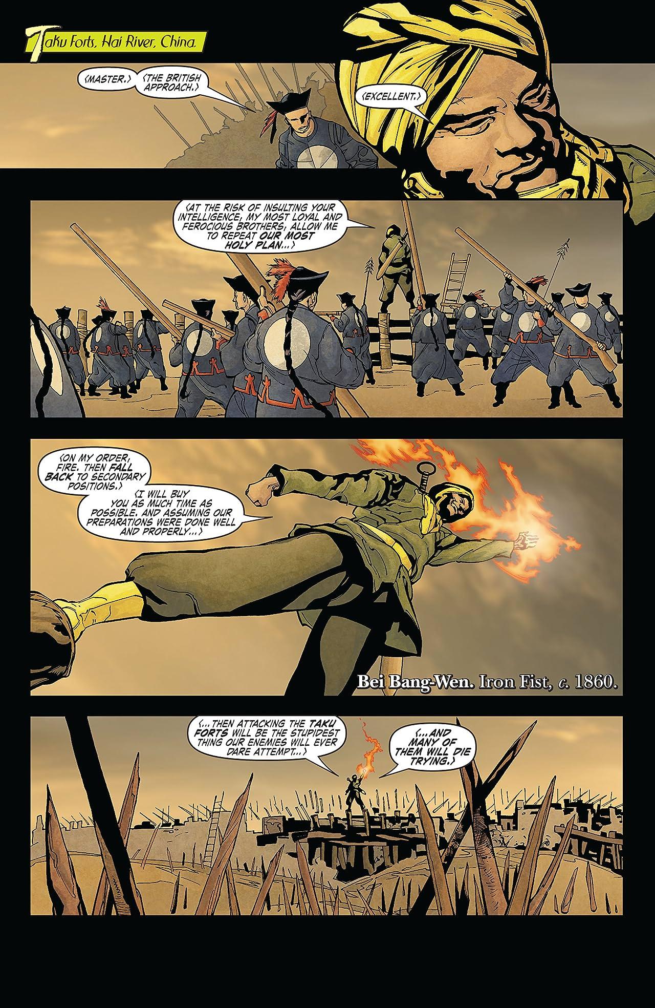 Immortal Iron Fist (2006-2009) #3
