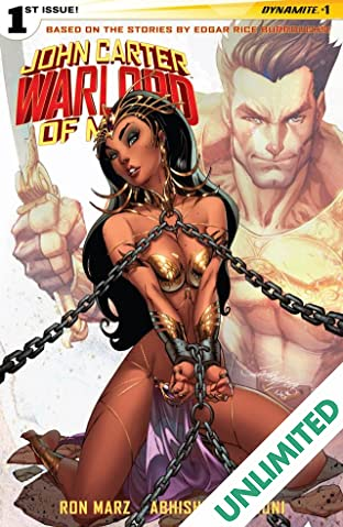 John Carter: Warlord of Mars #1: Digital Exclusive Edition