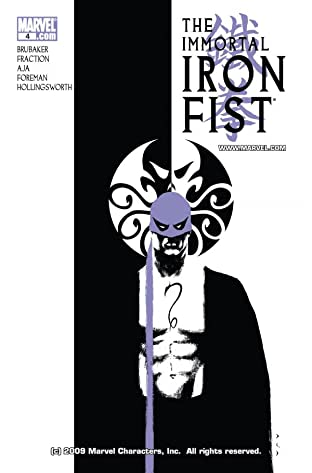 Immortal Iron Fist (2006-2009) No.4