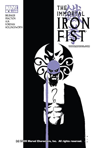 Immortal Iron Fist (2006-2009) #4
