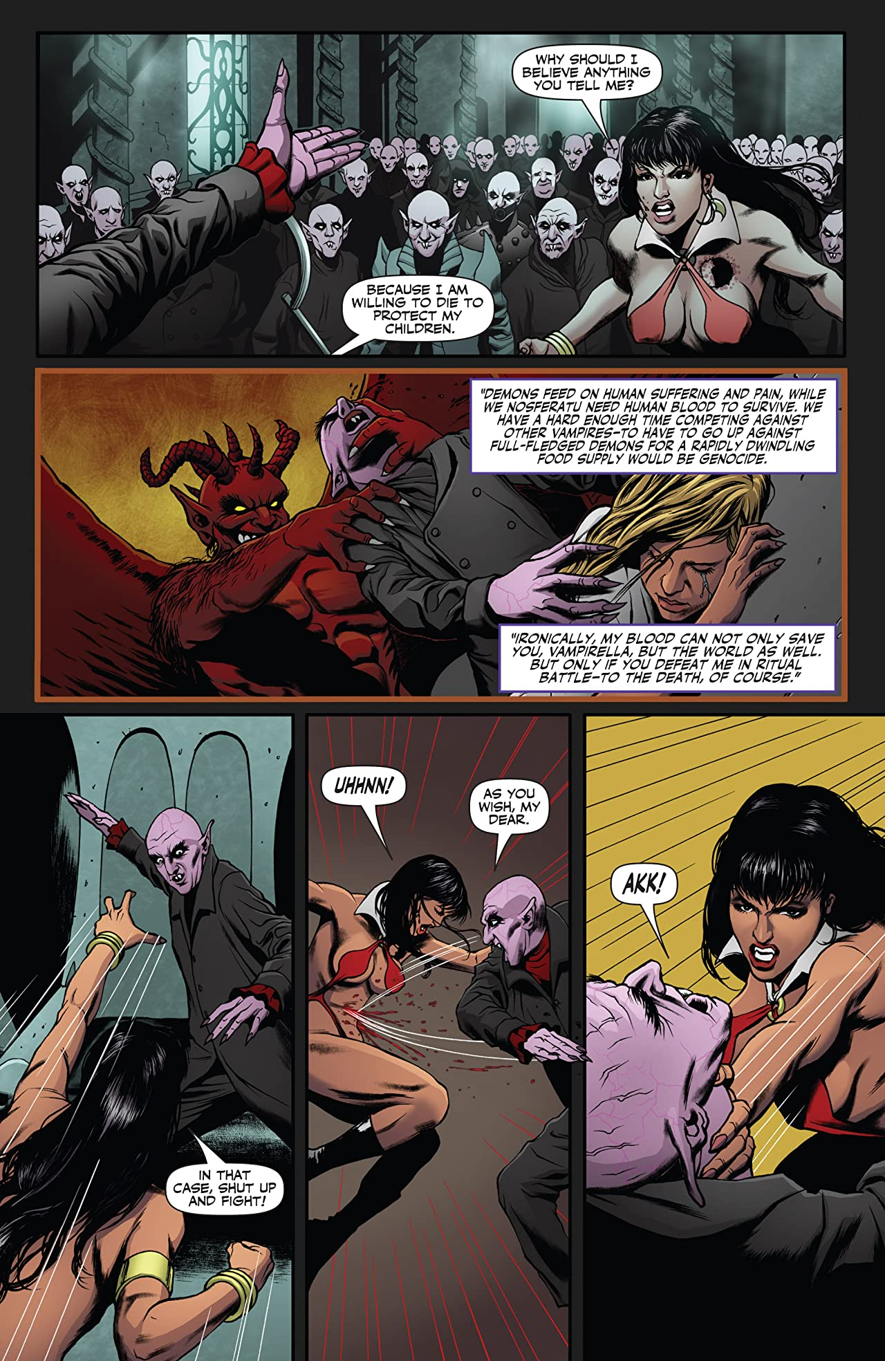 Vampirella (2014) #6: Digital Exclusive Edition