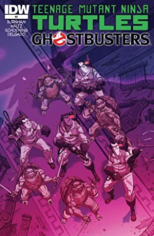 Teenage Mutant Ninja Turtles/Ghostbusters #2 (of 4)