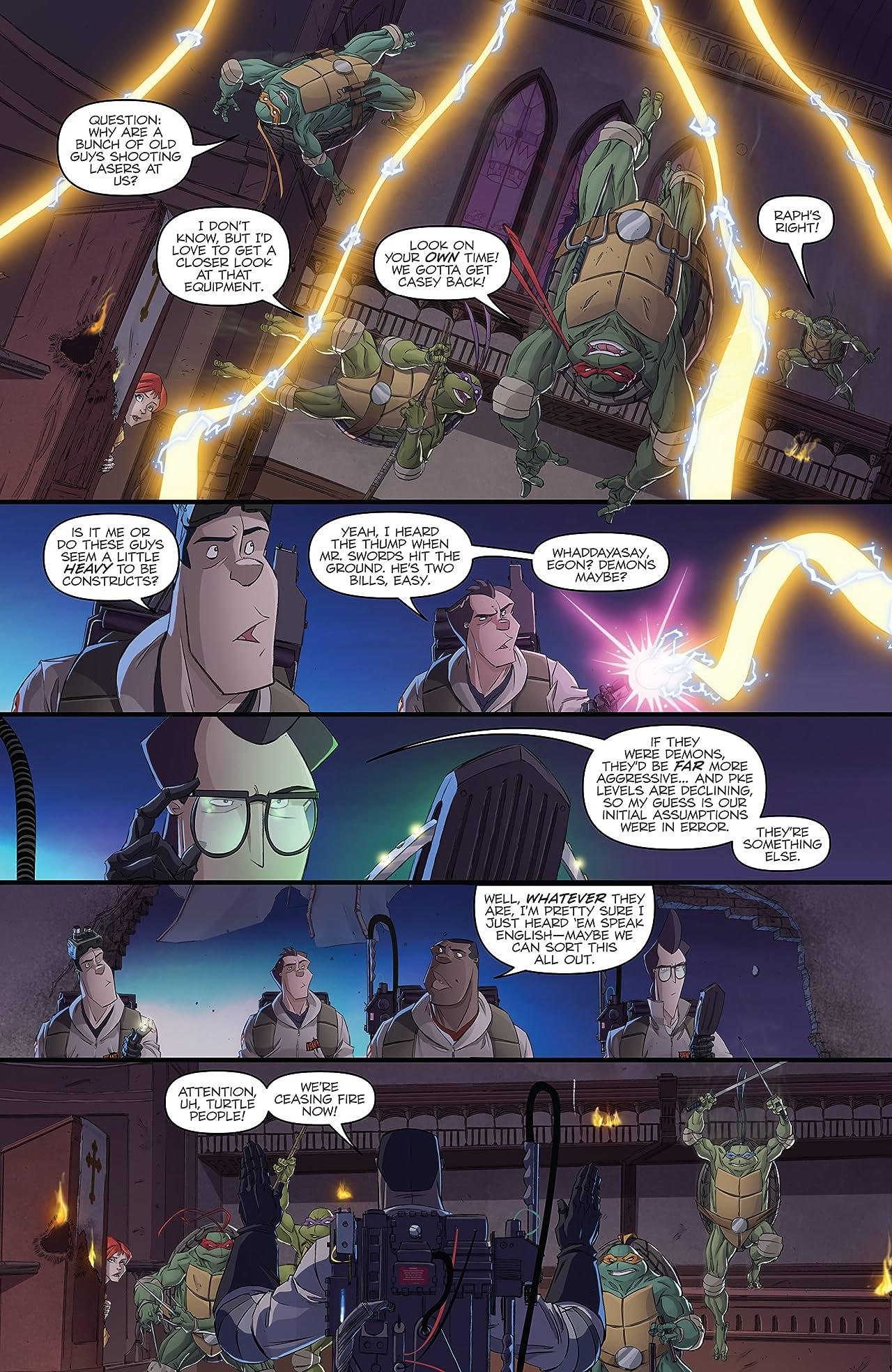 Teenage Mutant Ninja Turtles/Ghostbusters #2 (of 4)