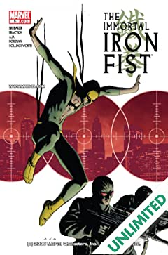 Immortal Iron Fist (2006-2009) #5