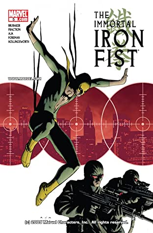 Immortal Iron Fist No.5