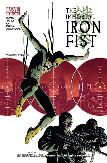 Immortal Iron Fist #5