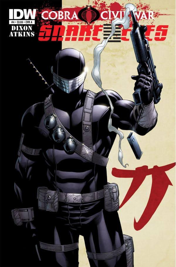 G.I. Joe: Snake Eyes (2011-2013) #4