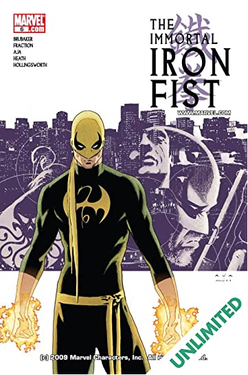Immortal Iron Fist #6