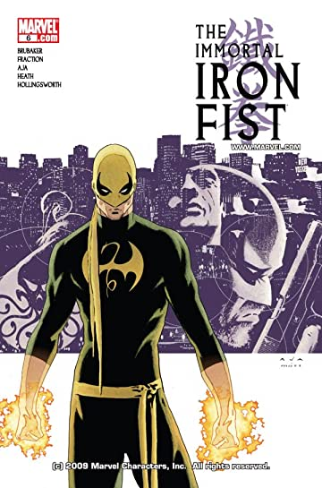 Immortal Iron Fist (2006-2009) #6