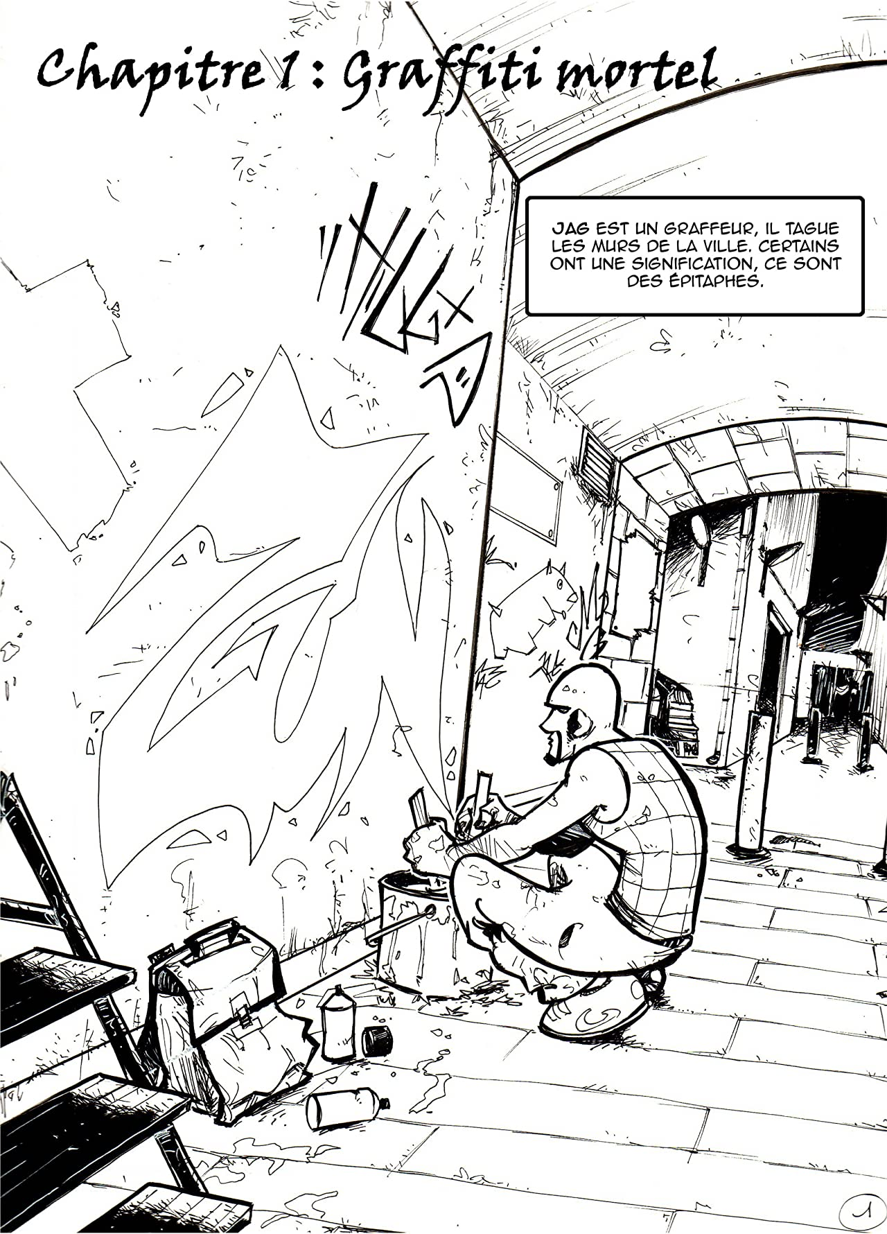 Freddy Marteau - Eternal Graffiti