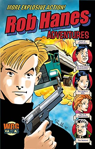 Rob Hanes Adventures #4