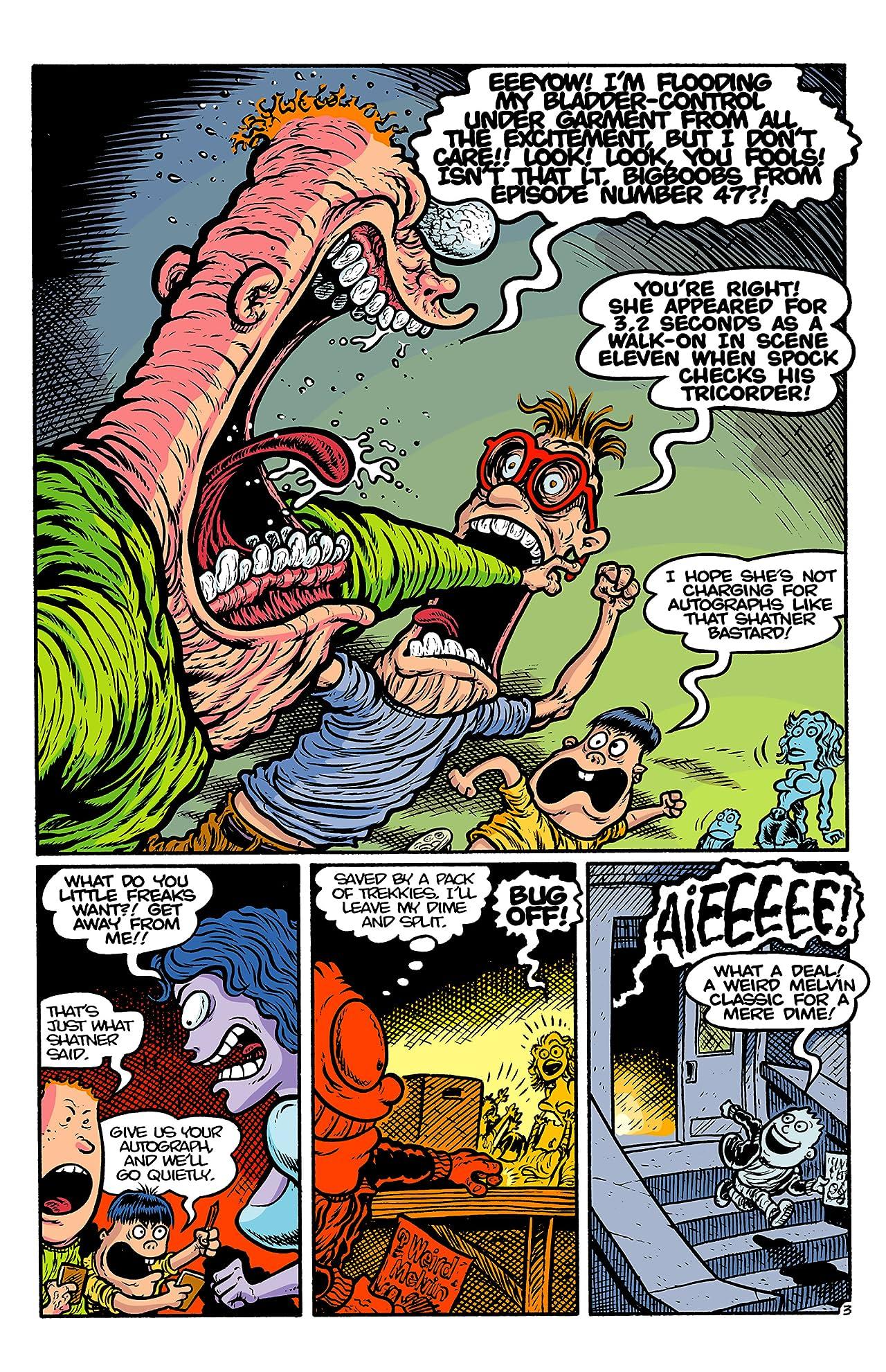 Weird Melvin #4