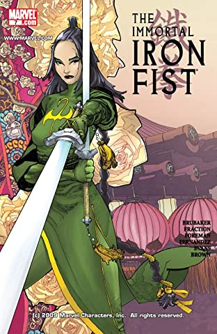 Immortal Iron Fist (2006-2009) No.7