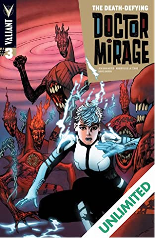The Death-Defying Dr. Mirage (2014) #3 (of 5): Digital Exclusives Edition