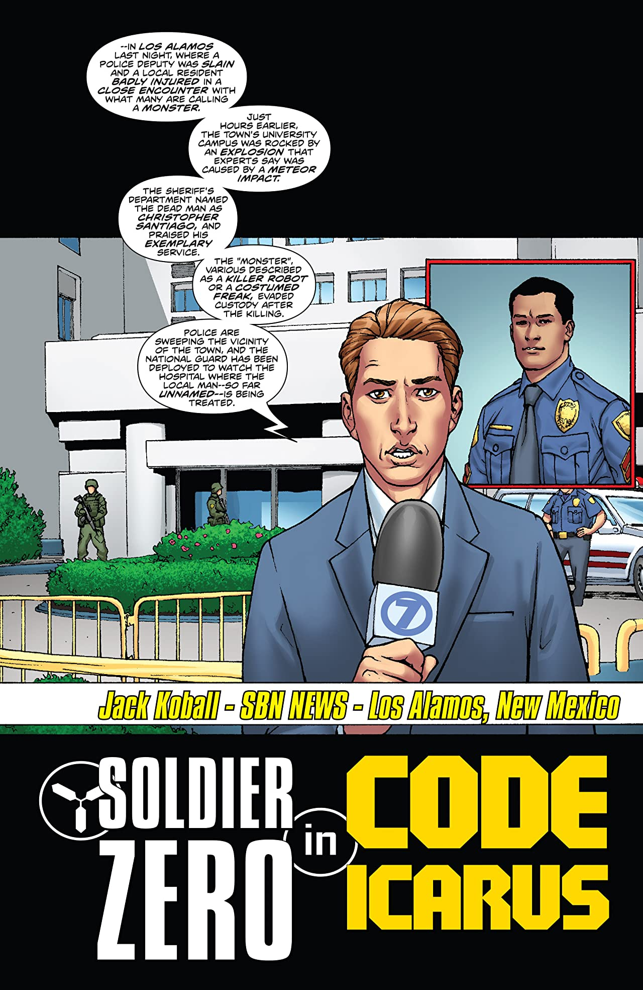 Stan Lee's Soldier Zero Vol. 2