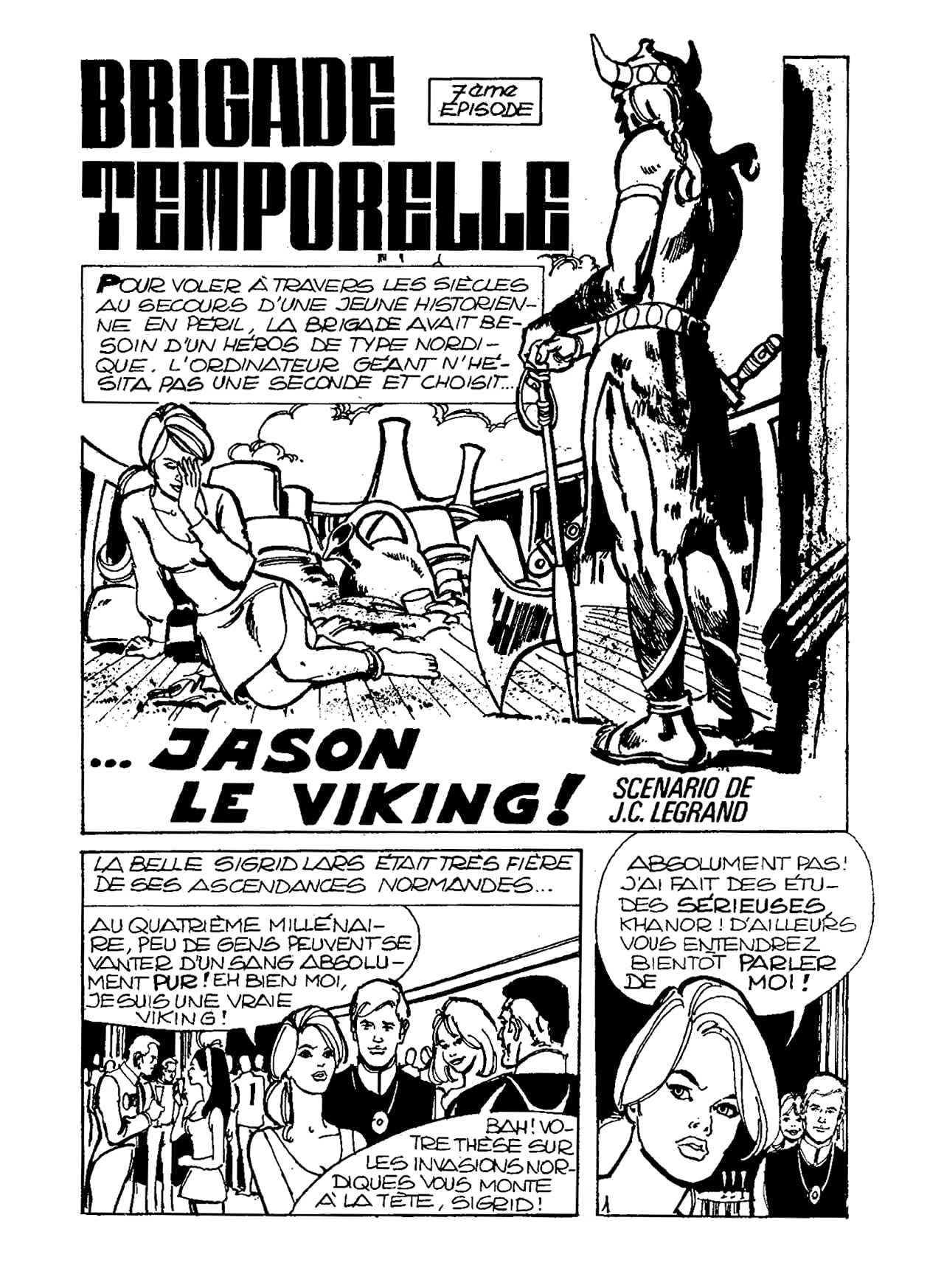BRIGADE TEMPORELLE Vol. 7: Jason le Viking