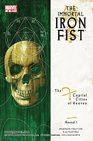 Immortal Iron Fist (2006-2009) No.8