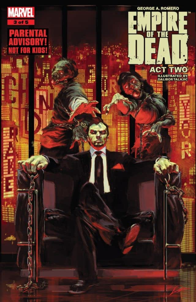 George Romero's Empire of the Dead: Act Two #3 (of 5)