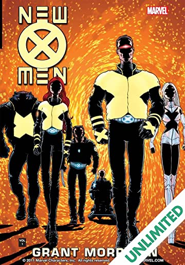 New X-Men by Grant Morrison Vol. 1: E Is For Extinction