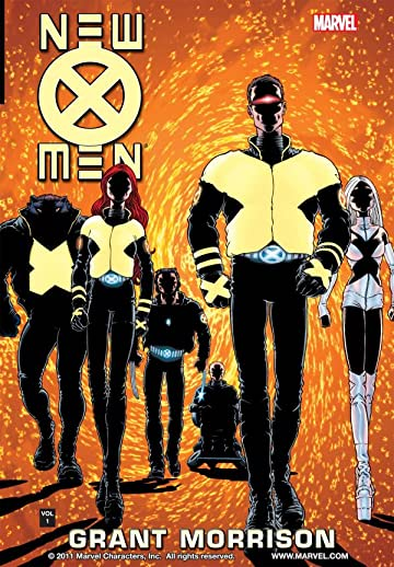 New X-Men by Grant Morrison Tome 1: E Is For Extinction