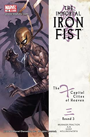 Immortal Iron Fist No.10