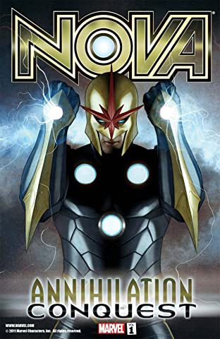 Nova Tome 1: Annihilation - Conquest