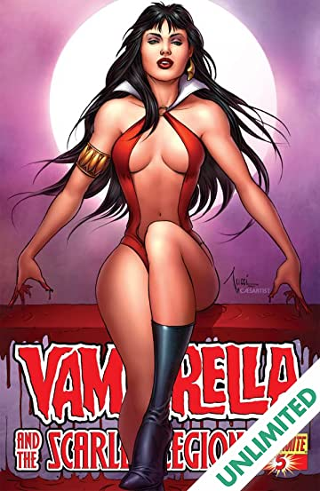 Vampirella and the Scarlet Legion #5