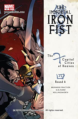 Immortal Iron Fist (2006-2009) No.11