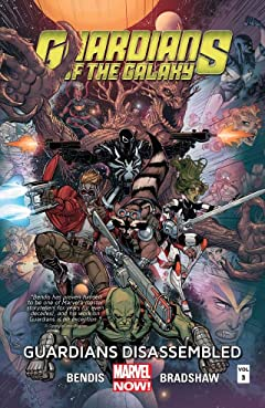 Guardians of the Galaxy Tome 3: Guardians Disassembled