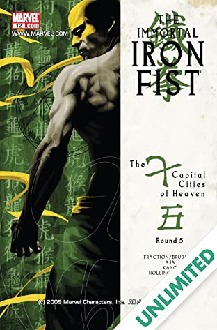 Immortal Iron Fist (2006-2009) #12