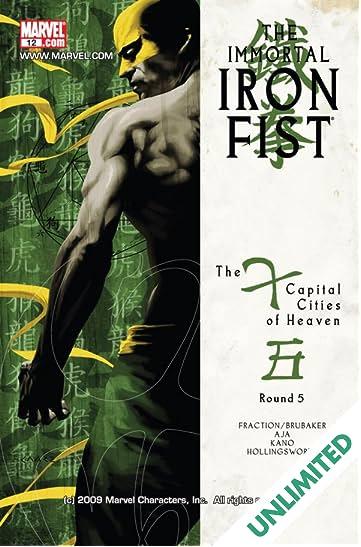 Immortal Iron Fist #12