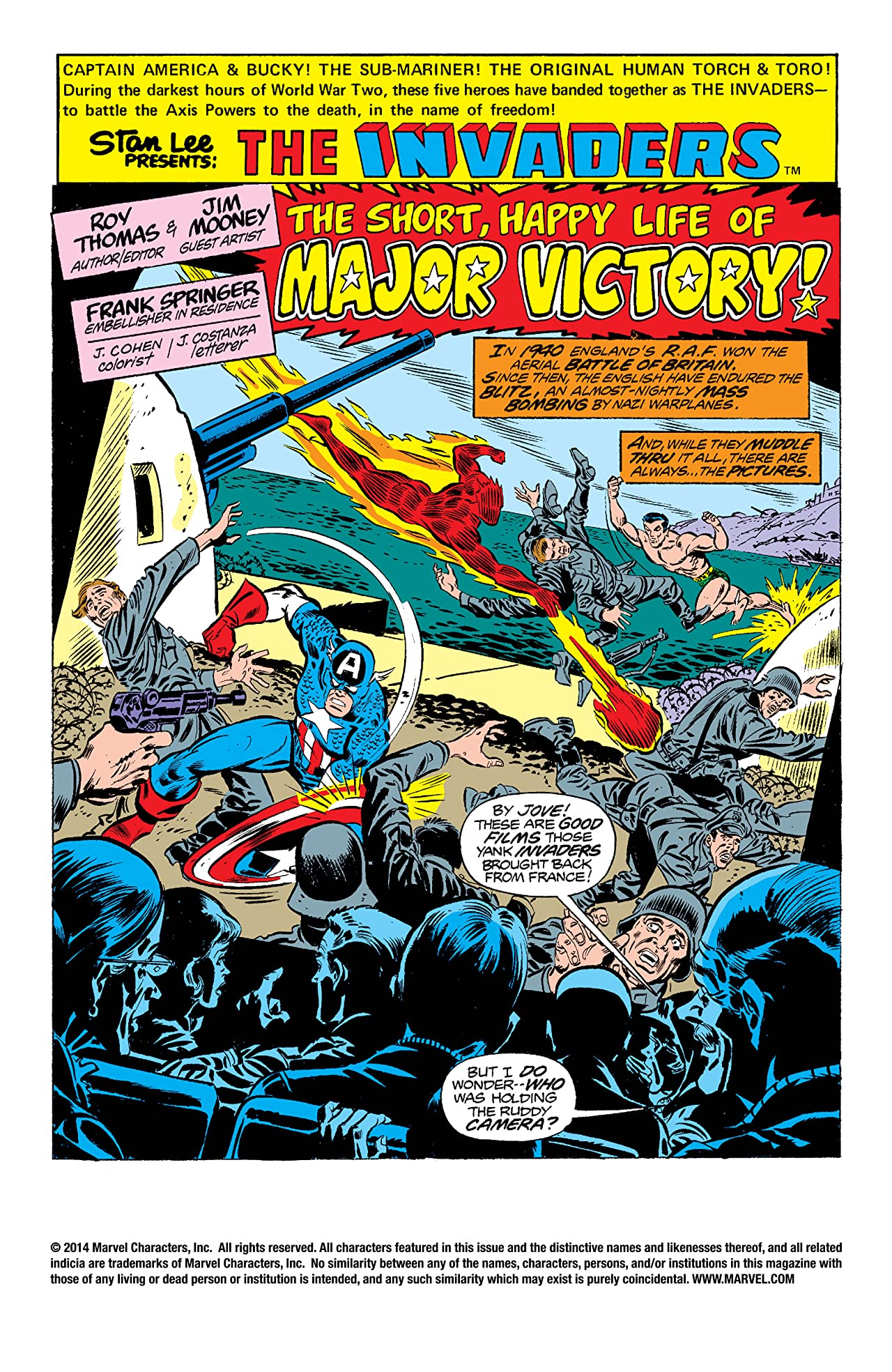 Invaders (1975-1979) #16