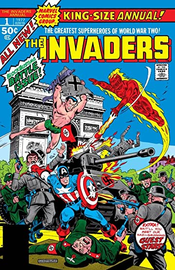 Invaders (1975-1979) Annual #1