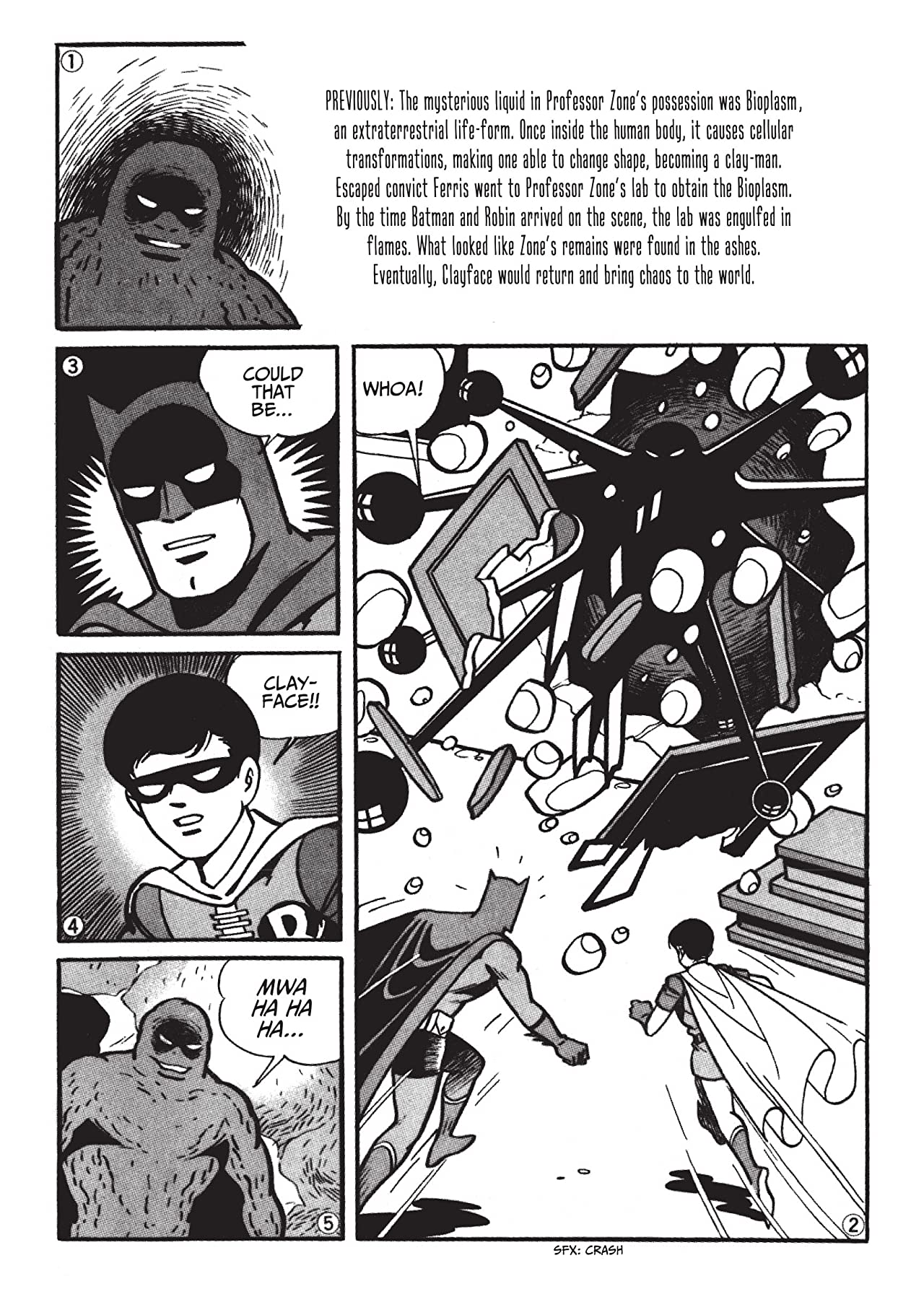 Batman: The Jiro Kuwata Batmanga #21