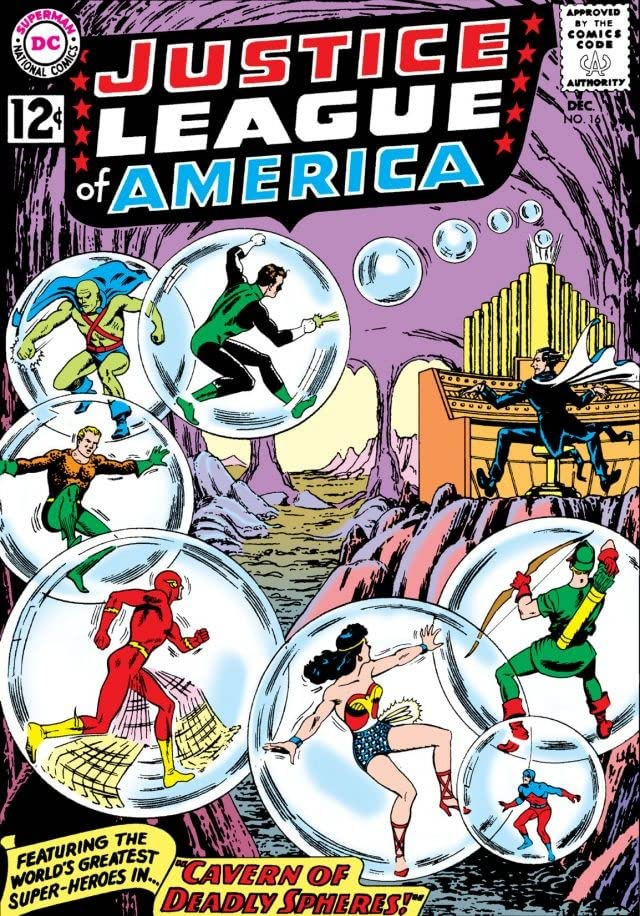 Justice League of America (1960-1987) #16