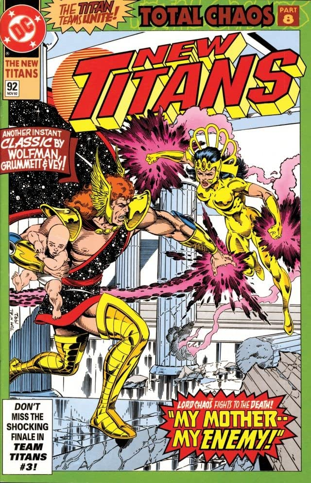 The New Titans (1984-1996) #92