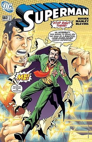 Superman (1939-2011) #660