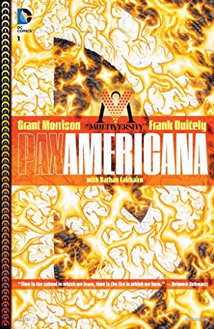 The Multiversity: Pax Americana (2014) No.1