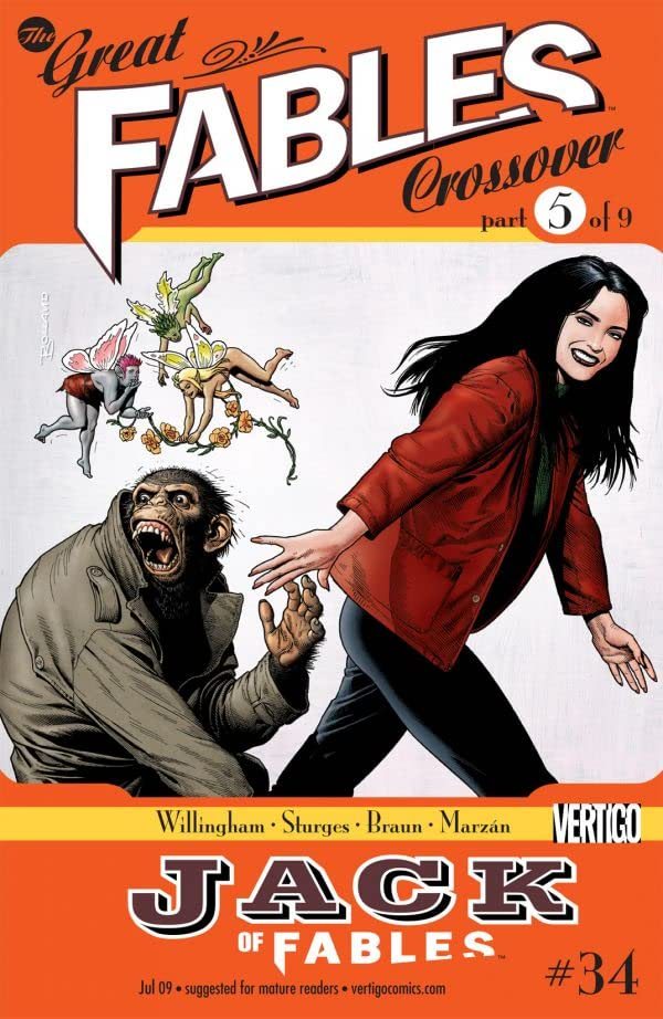 Jack of Fables #34