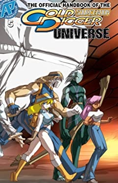The Gold Digger Sourcebook: The Official Handbook of the Gold Digger Universe #5