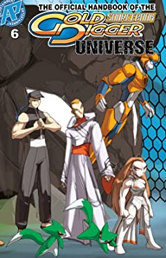 The Gold Digger Sourcebook: The Official Handbook of the Gold Digger Universe #6