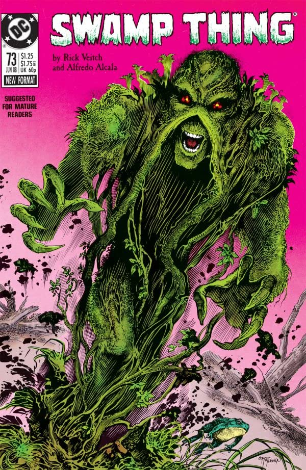 Swamp Thing (1982-1996) #73