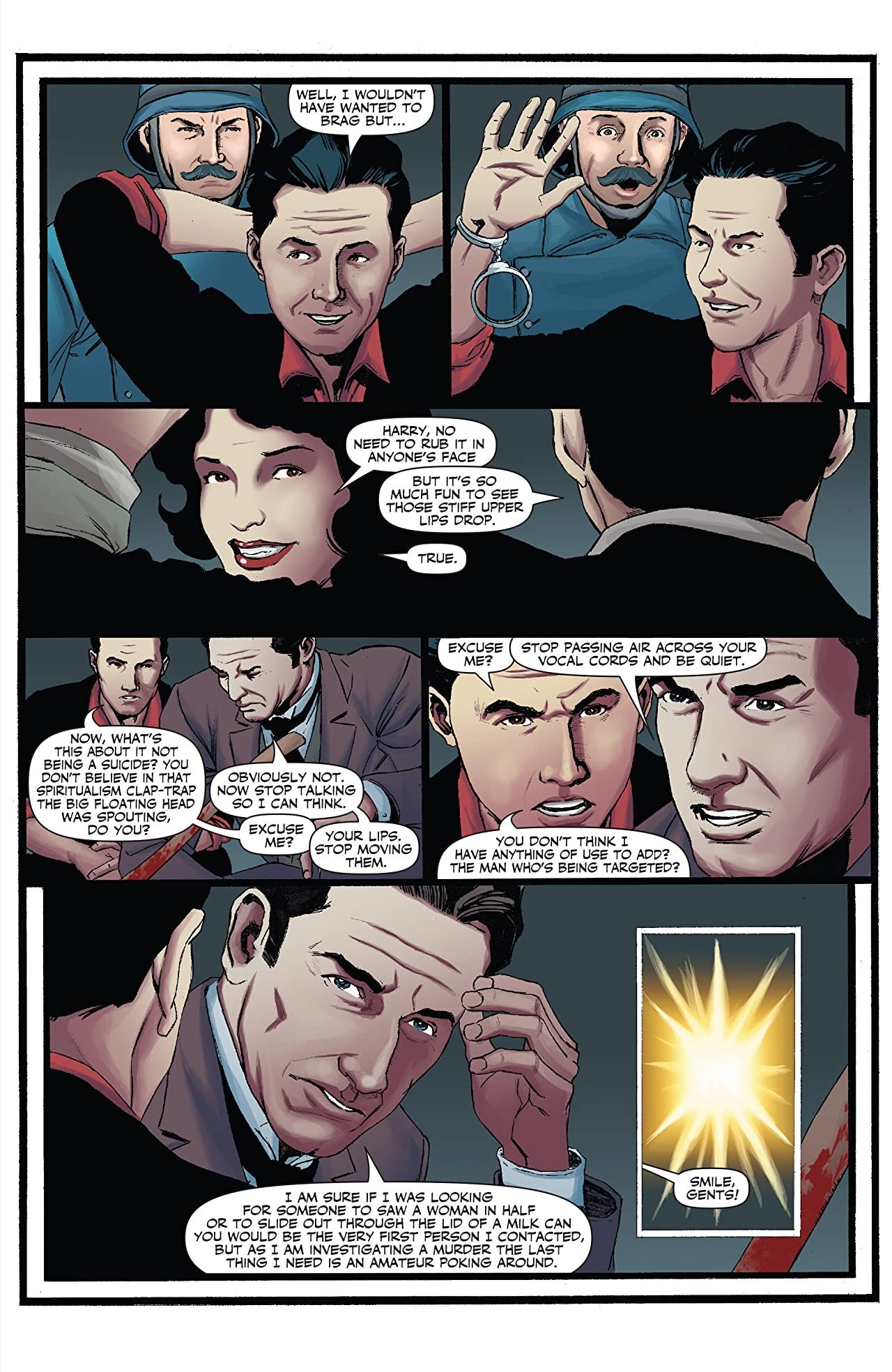 Sherlock Holmes vs. Harry Houdini #2 (of 5): Digital Exclusive Edition