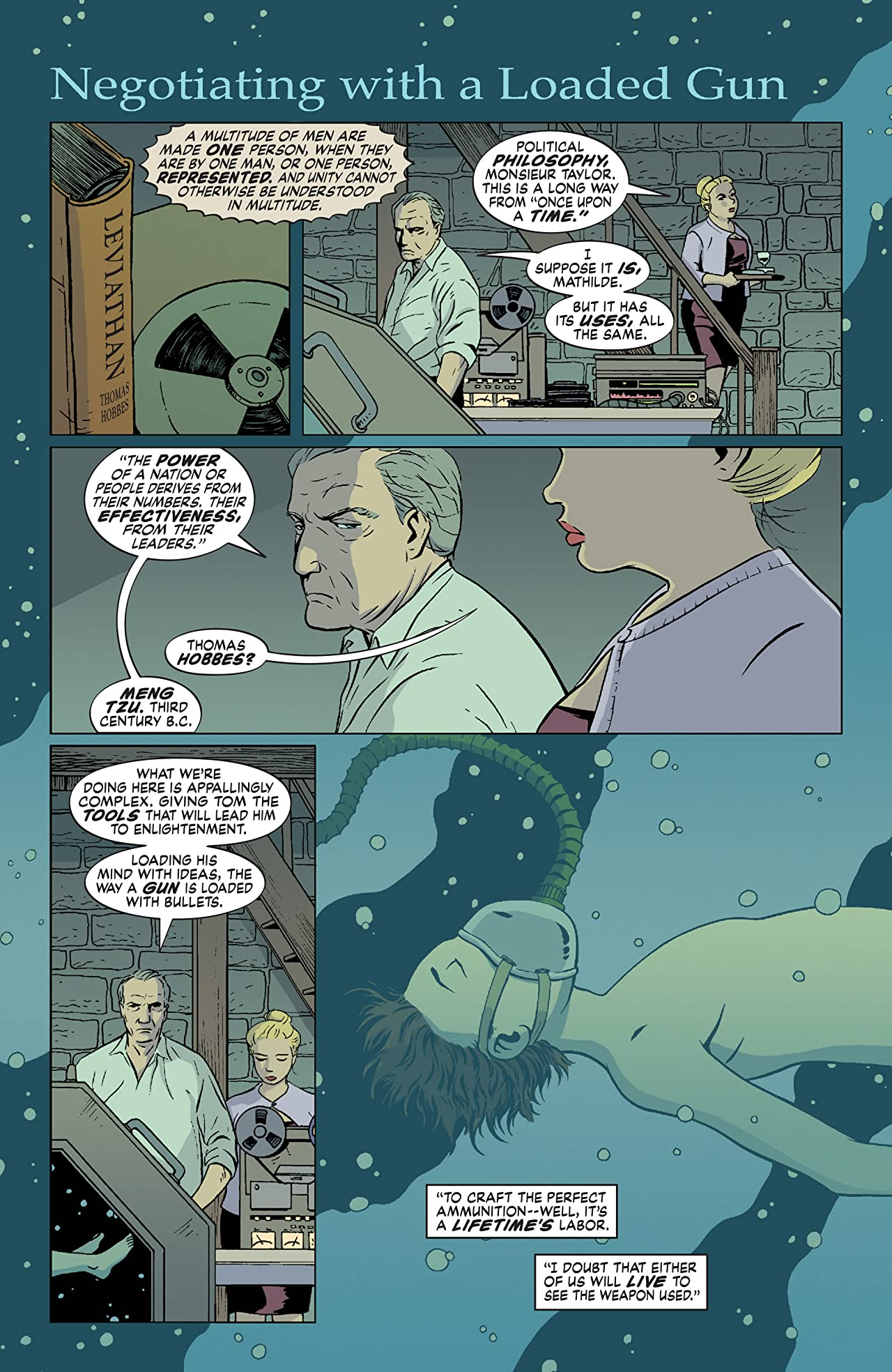 The Unwritten #23