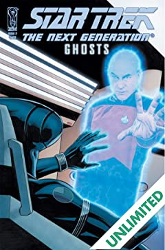 Star Trek: The Next Generation: Ghosts #2