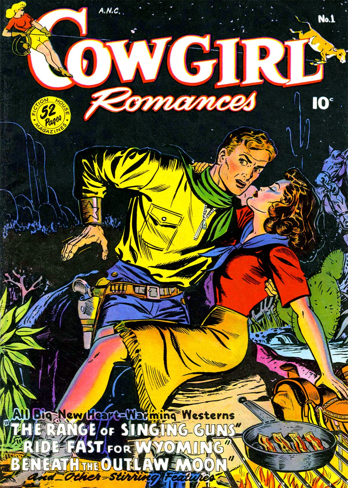 Cowgirl Romances #1