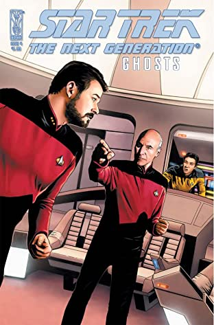Star Trek: The Next Generation: Ghosts #4