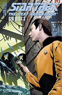 Star Trek: The Next Generation: Ghosts No.5